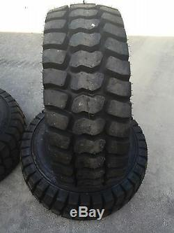 12-16.5 Galaxy Trac Star Skid Steer Tires/Wheels/Rims for Case XT & 400 series