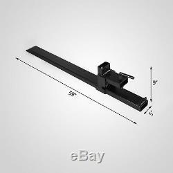 1500lb/2000lb/4000lb Clamp on Loader Bucket Skidsteer Tractor Pallet Fork Chain