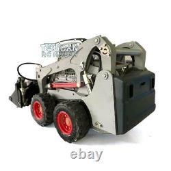 1/14 LESU Metal Aoue-LT5H Hydraulic Wheeled Skid-Steer Loader RC DIY Model Sound