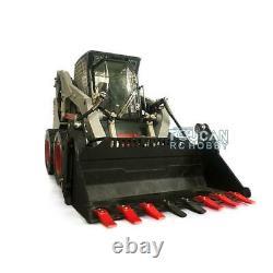 1/14 LESU Metal Aoue-LT5H Wheeled Skid-Steer Loader RC Hydraulic DIY Model Sound