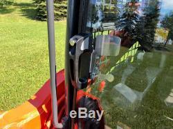 1/2 Lexan SVL Kubota EXTREME FORESTRY DOOR + SIDES! Skid steer loader