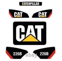 226b Sticker Set Skid Steer Caterpillar Cat Decal Kit 226 Loader