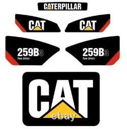 259b3 Sticker Set Skid Steer Caterpillar Cat Decal Kit 259 Loader