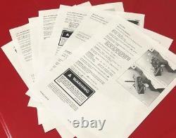 4 Bobcat Skid Steer Axle Bearing and Seal Kits 645 751 751G 753 753G 753L