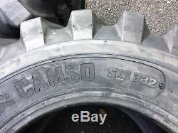 4 NEW 12-16.5 Skid Steer Tires Camso 12X16.5 For Bobcat & others