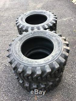 4 NEW 12-16.5 Skid Steer Tires Camso 12X16.5 -For John Deere loader