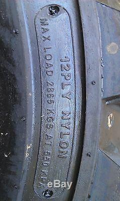 4 NEW Deestone 12X16.5 Skid Steer Tires & Rims for Case XT & 400 series-12-16.5