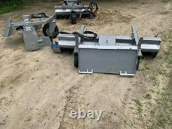 6' Skid Steer Power Rake Replaceable Teeth For mini skid steer or full s Harley