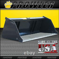 72 Snow And Litter Bucket For Skid Steer & Compact Track Loaders 72 Inch Wide