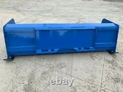 7' XP24 BLUE SNOW PUSHER Skid Steer Loader FREE SHIPPING