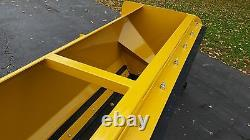 7' XP30 snow pusher with pullback bar FREE SHIPPING-RTR skid steer bobcat