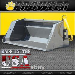 84 High Dump Skid Steer Loader Bucket Attachment 3 Foot Extended Reach