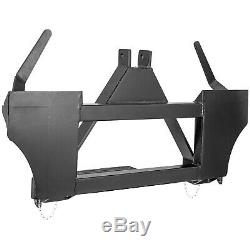 Attachments 3 Point to Universal Quick Tach Adapter Skid Steer Tractor