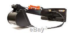Backhoe Attachment for Bobcat Skid Steer Eterra E60 Backhoe 3 Option Bundle