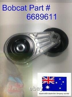 Belt Tensioner Pulley for Bobcat 6689611 S100 S450 S64 S66 S740 S750 S76 S770