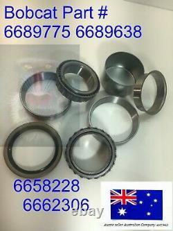 Bobcat Axle Bearing Kit 6689775 6689638 6689775 6662306 732 741 742 743 751 753