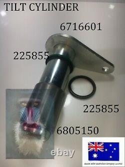 Bobcat Bobtach Pivot Pin & Bush Kit 6716601 6805150 225822 553 653 751 753 763