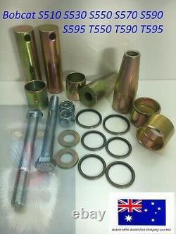 Bobcat Bobtach Pivot Pin Bush Kit 7135590 6730997 S510 S530 S550 S570 S590 S595