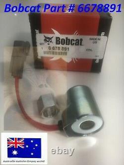 Bobcat Coil 10 V 6678891 753 763 773 S130 S150 S160 S175 S185 S205 S220 S250