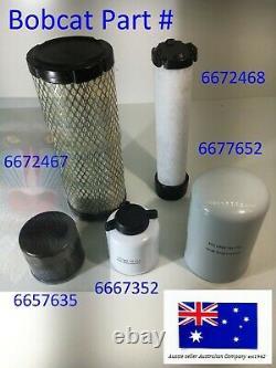 Bobcat Filter Service Kit S70 463 6672467 6672468 6657635 6667352 6677652