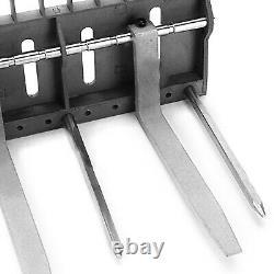Bobcat Skid Steer Loader Metal Fork Bucket for 1/14 Engineering Hydraulic Model