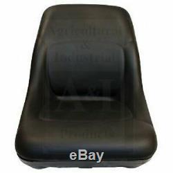 Bobcat Skidsteer Black Vinyl Bucket Seat