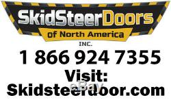 Bobcat T190 T200 T250 T300 T320 1/2 LEXAN Door + Sides. Skid steer loader