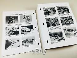 CASE 1845B Uni-Loader Skid Steer Service Repair Shop Manual Binder Ready NEW