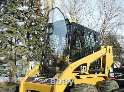CAT LEXAN DOOR ONLY! Spring Special Skid Steer Mower Mulcher. Lifetime Warranty