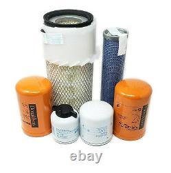 CFKIT Filter Kit for/Bobcat 853, 853H Skid Steer with4JB1 Eng Oil Fuel