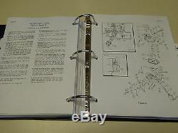 Case 1845B Uni-Loader Skid Steer Service Manual Repair Shop Book NEW withBinder