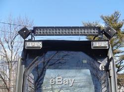 Case 1845C 1/2 Lexan Door plus sides. Polycarbonate Skid steer Cab enclosure