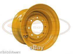 Case 8.25x16.5 10 x 16.5 skid steer loader wheel rim tire new 8 lug 40TX