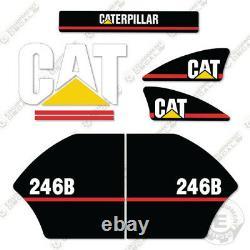 Caterpillar 246B Decals Reproduction Skid Steer Equipment Decals Older Style
