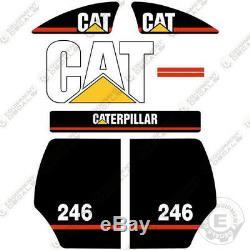 Caterpillar 246 Decal Kit Skid Steer