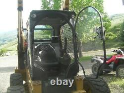 Caterpillar D Skid Steer Door 1/2 Lexan Poly-carbonate. Fits all D series Cats