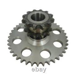 Chain Drive Cluster Sprocket Set D76529 D64175 D63780 Fits Case Skid Steer 1845