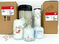 Filter Kit For Bobcat S160 S185 S205 Skid Steer Oil Air Fuel Hydro
