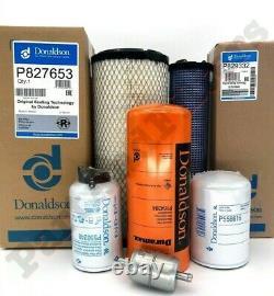 Filter Kit for CASE 40XT 60XT 75XT 85XT Skid Steer (All Donaldson)