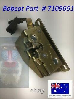 Front Door Lock Latch fits Bobcat 7109661 T250 T300 T320 T450 T550 T590 T595