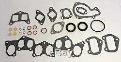 Full Engine Head Gasket Set Bolts Citroen Peugeot Skidsteer 751 1.9d Xud9 Diesel