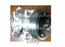 Genuine Sanden Sd5h09 Ac Compressor For Takeuchi Tl140 Skidsteer