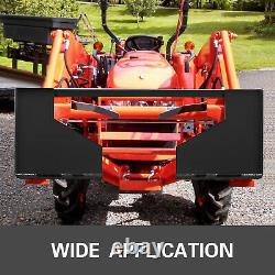 HD 3/8 thick Steel Quick Tach Attachment Mount Plate Skid steer Adapter Bobcat