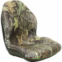 High Back Camo Vinyl Bucket Seat for Yamaha Rhino 450 660 700 XB200