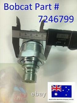 Hydraulic Block Quick Coupler Flat Face FFH 7246783 Auxillary Valve for Bobcat