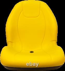 John Deere 317,318D, 318E, 319D, 319E, 320,320D, 320E, 324E, 325 Skid Steer Seat Yellow