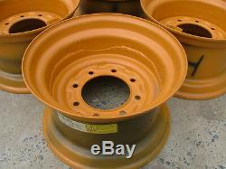 NEW 16.5X9.75X8 Skid Steer Rim for Case fits 12X16.5 tire-12-16.5 1845C Case rim