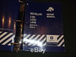 NEW HOLLAND L565 Lx565 LX665 SKID STEER SERVICE SHOP REPAIR MANUAL BOOK OEM