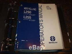 New Holland L250 L255 Skid Steer Loader Service Repair Shop & Maintenance Manual
