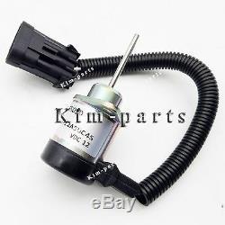 New Kubota Fuel Shutoff Solenoid 1G925-60011 Bobcat S185 skid steer 6691498